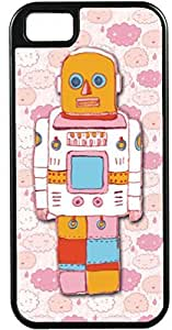 iPhone 5 5S Cases Customized Gifts Cover Robot cartoon Design