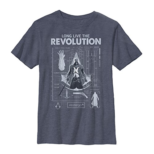 Assassins Creed Revolution Blueprint Graphic
