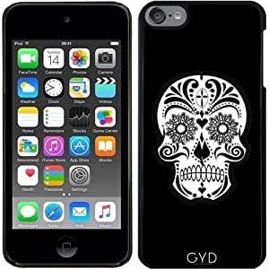Funda para Ipod Touch 6 - Cráneo Negro Y Whie by More colors in life