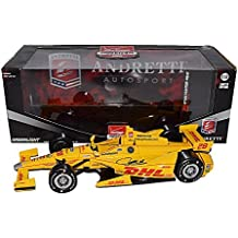 AUTOGRAPHED 2015 Ryan Hunter-Reay #28 DHL Racing INDIANAPOLIS 500 (Andretti Autosport Team) 1/18 Scale Greenlight Verizon Indy Car Series Diecast with COA (#0022 of only 1,000 produced!)