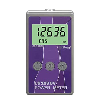 Huanyu LS123 - Medidor de Intensidad Ultravioleta con Detector de transmisión, radiación UV, Herramienta de Prueba de luminancia: Amazon.es: Coche y moto