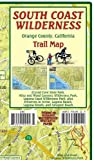South Coast Wilderness Trail Guide Orange County California Franko Maps Waterproof Map