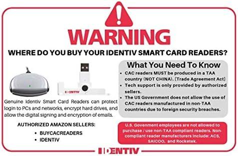 NEW USB CAC Smart Card Reader SmartOS SCR3310 v2.0 PN 905331