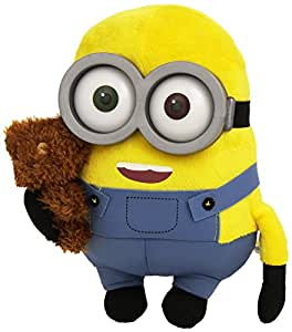 Peluche Minion Bob con Osito Super Suave: Amazon.es
