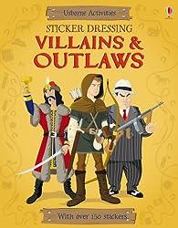 Sticker Dressing Villains & Outlaws
