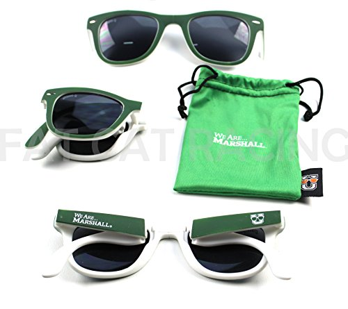 Marshall University Glass-U Collegiate Sunglasses Officially Licensed We Are - Honda Sunglasses Racing