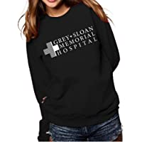 AEURPLT Greys Anatomy Sweatshirt Hoodies Women Teen Girls Fall Winter Cozy Fleece Pullover Hooded Crewneck Sweatshirts…