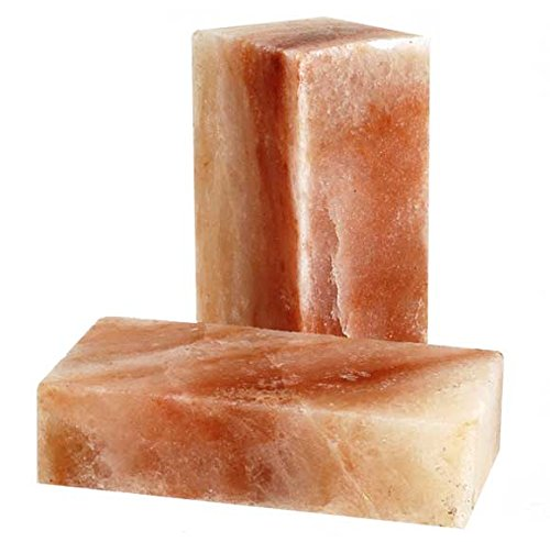 Himalayan Salt Block, Salt Bricks Set of 2 8
