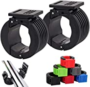 ZPARIK Olympic Barbell Clamps Collars 2 inch Barbell Clips, Quick Release Weight Clips Clamps for Olympic Bars