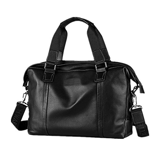 First Computer Business Business Men's Notebook Bag Briefcase Vintage For Leather Briefcase Qi Casual Bags Satchel Tote Men's Layer Suitable Leather 4pYZPP8Wxw