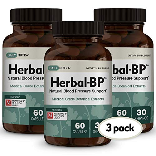 Herbal-BP Natural Blood Pressure Support with Stress Managem