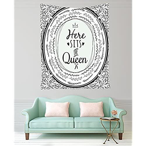 Decoration Ideas For Living Room Bedroom Decor Queen Design Funny Quotes Modern Tapestry Wall Hanging Dorm Bedroom Living Room Decorations Black And White