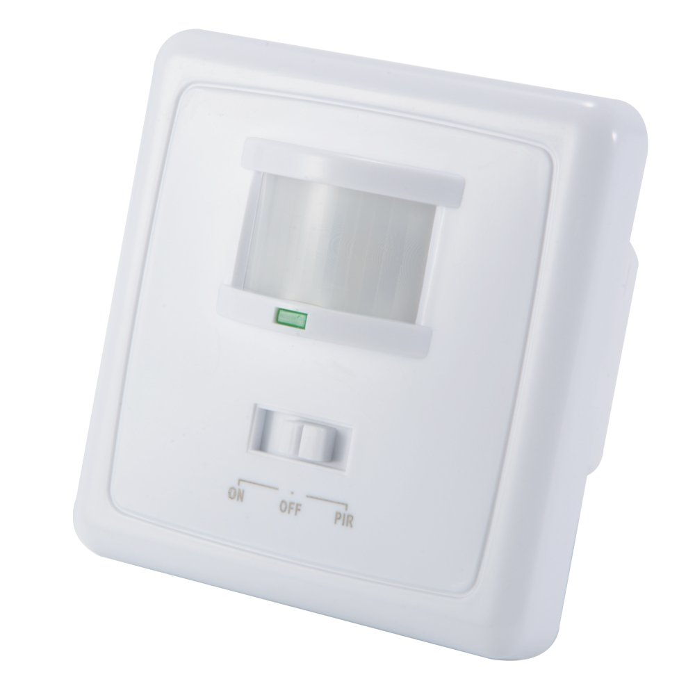 XCSOURCE 220-240V PIR Motion Sensor Human Body Detector Switch Automatic 180 Degree Security Wall Mounting HS1064