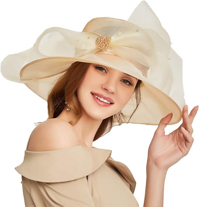 Organza Kentucky Derby Sun Hat
