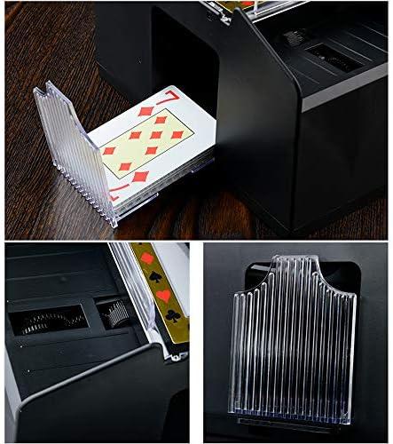 Vergunningautomaat Texas Hold'Em 21 Uur De Kaartschoen 6 Stapels Speelkaarten Dealing Box