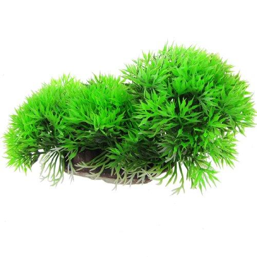 jardin plastic aquarium fish tank floating grass plant. Black Bedroom Furniture Sets. Home Design Ideas