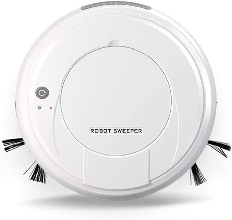 YLOVOW Robot Vacuum Cleaner Robovac, Super-Thin, 1500Pa Suction, Boundary Strips Included, Quiet, Self-Charging Robotic Vacuum, Cleans Hard Floors to Medium-Pile Carpets