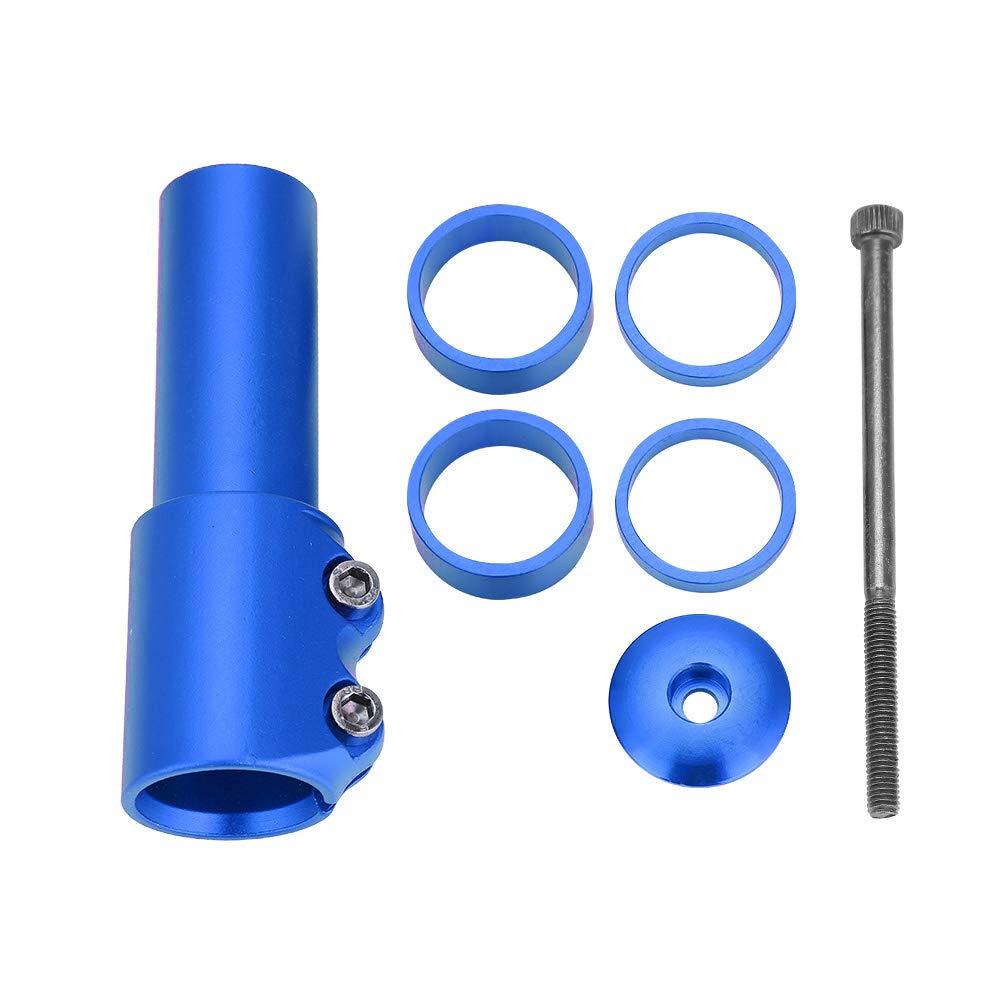 Bicycle Fork Stem Riser Mountain Bike Handlebar Stem Riser Rise Up Extender Extension Adaptor Parts