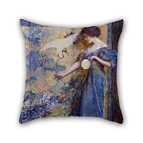 20 X 20 Inches / 50 By 50 Cm Oil Painting Robert Reid - The Mirror Pillow Covers,twin Sides Is Fit For Family,indoor,sofa,valentine,dining Room,boys
