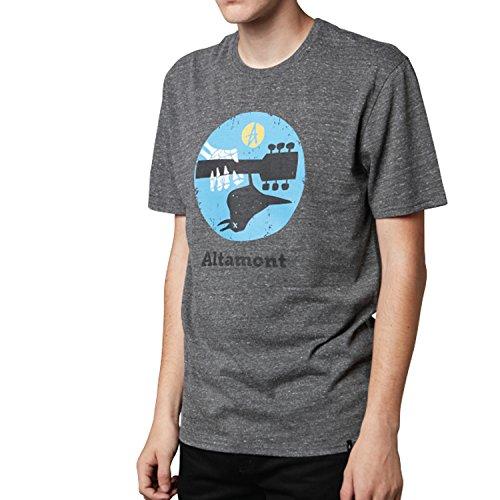 Tee Altamont (ALTAMONT Deadstival T-Shirt Men | Grey Heather (3130002373) (XL))