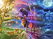 Buffalo Games - Serengeti Sunrise - 1000 Piece Jigsaw Puzzle