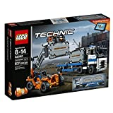 LEGO Technic Container Yard Building Kit, 631 Piece