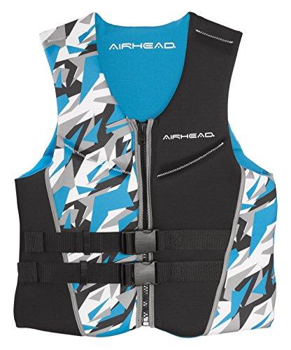 AIRHEAD CAMO COOL Mens Kwik-Dry Neolite Flex Vest, Blue