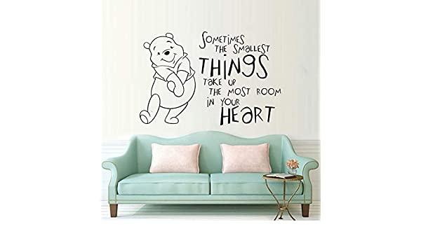 zqyjhkou Cute The Pooh Vinyl Wall Sticker Algunas Veces The ...