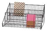 SSWBasics 3-Tier Black Wire Countertop Rack - 12¾'H x 23½'W x 14' D
