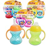 Baby : Nuby No-Spill Combo Pack Sippy Cups - Colors May Vary