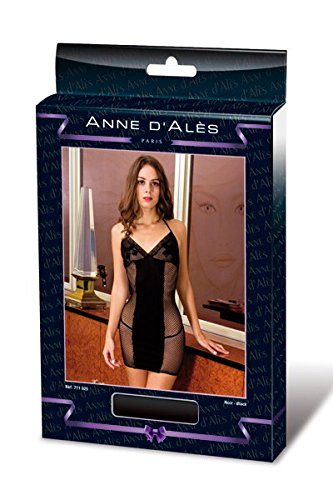 Robe Résille Noir Tango Anne Dernier D'ales En qXqwR