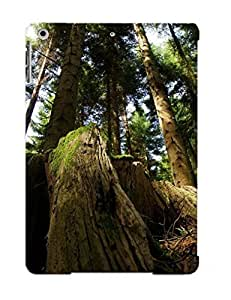 EJQsKoc3244HhhsE Tough Ipad Air Case Cover/ Case For Ipad Air(mossy Tree Trunk ) / New Year's Day's Gift