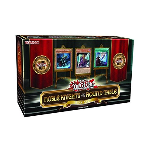 Yu-Gi-Oh! Noble Knights of the Round Table Box Set Not Include Sleeves, Scientific Toys, 2018