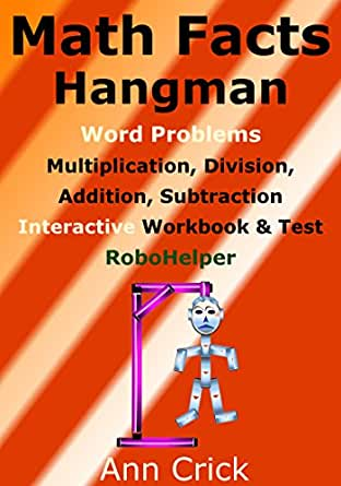 Math Facts Hangman: Word Problems - Multiplication, Division ...