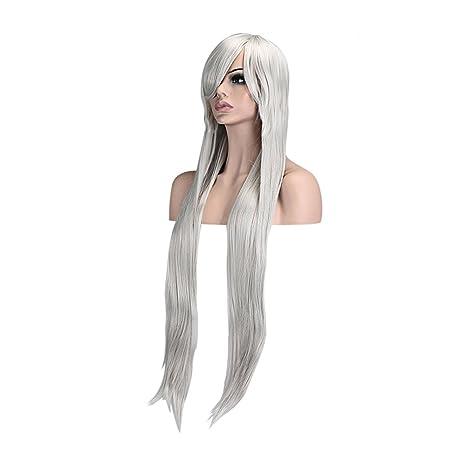 Ambielly 40  quot   100 centimetri lunga parrucca riccia ondulata Womens  parrucca dei capelli del 1d0edffb8c75