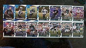 2017 Donruss Football Philadelphia Eagles Team Set - 14 Cards - Mack Hollins RC, Donnel Pumphrey RC, Shelton Gibson RC, Derek Barnett RC, Sidney Jones RC, Wentz, Cox, Reggie White, and many more