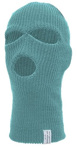(TopHeadwear's 3 Hole Face Ski Mask, Sky Blue)