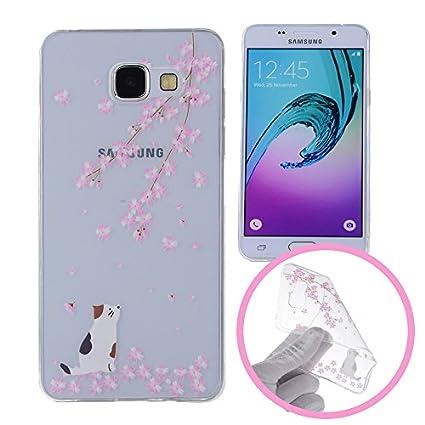 f756f671ea4 Silingsan Funda de Silicona para Samsung Galaxy A5 2016 SM-A510F Carcasa de  Caucho Gel TPU ...