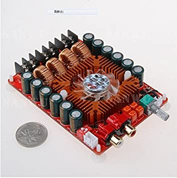 TDA7498E 2x160W High Power Dual Channel Stereo Digital Audio Power Amplifier Board Amplifier Board