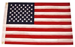 These deluxe sewn flags are constructed from lightweight yet durable fade resistant polyester fabric -- which makes them the perfect all-weather flags.