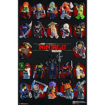 Amazon.com: Trends International Wall Poster Lego Ninjago-Grid ...