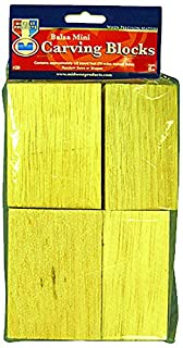 MIDWEST PRODUCTS-Carving Blocks(Balsa Mini, 72 cubic inches, random sizes and shapes) (B000Y99TTA) | Amazon Products
