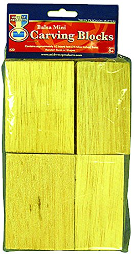 Midwest Products Project Woods Balsa Mini Carving Block Economy (Midwest Balsa Block)