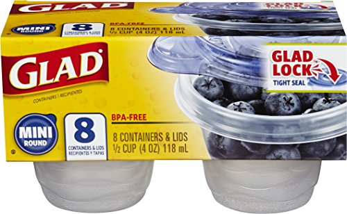 4 oz storage containers - 8