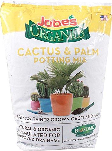 Jobe's Organics Cactus And Palm Potting Mix - 8 Quart - 8 Quart Easy Gardener Soils 8788