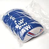 COOLSKY Golf Neoprene Wedge Iron Head Cover White and Blue US Flag Design Protective Headcover