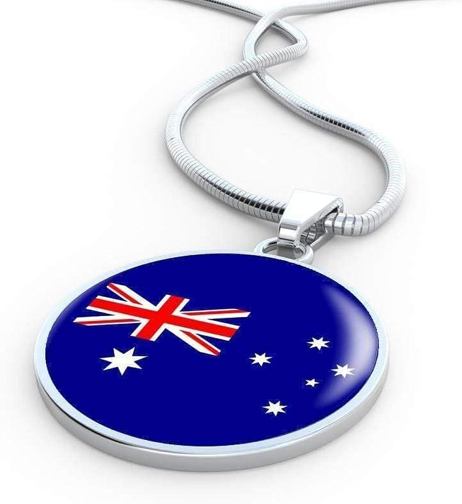 nusswahn.de Express Your Love Gifts Australia Flag Necklace ...