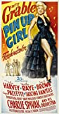 Pin Up Girl Movie Poster (27 x 40 Inches - 69cm x 102cm) (1944) Style B -(Betty Grable)(Martha Raye)(Jon Harvey)(Joe E. Brown)(Eugene Pallette)(Mantan Moreland)