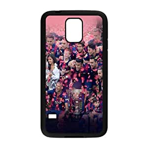 Samsung Galaxy S5 Phone Case Black Hf Fc Barcelona Champions League Big Ear Sports WL1R1AIE Cell Phone Cases For Cheap