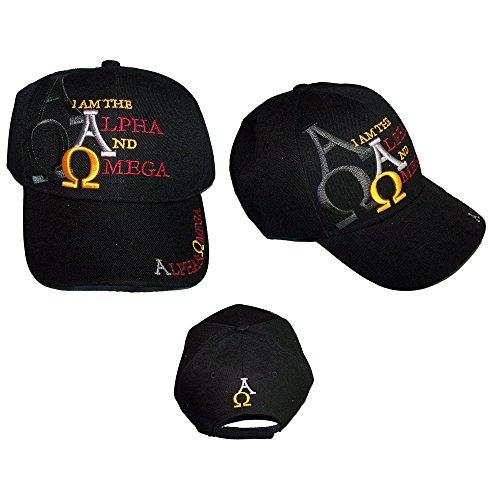 Alpha & Omega Christian Catholic Baseball Caps Hats Embroidered (ACCap311)